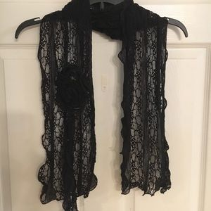 Accessories - Lace scarf 72""